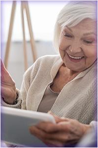 Tablette seniors